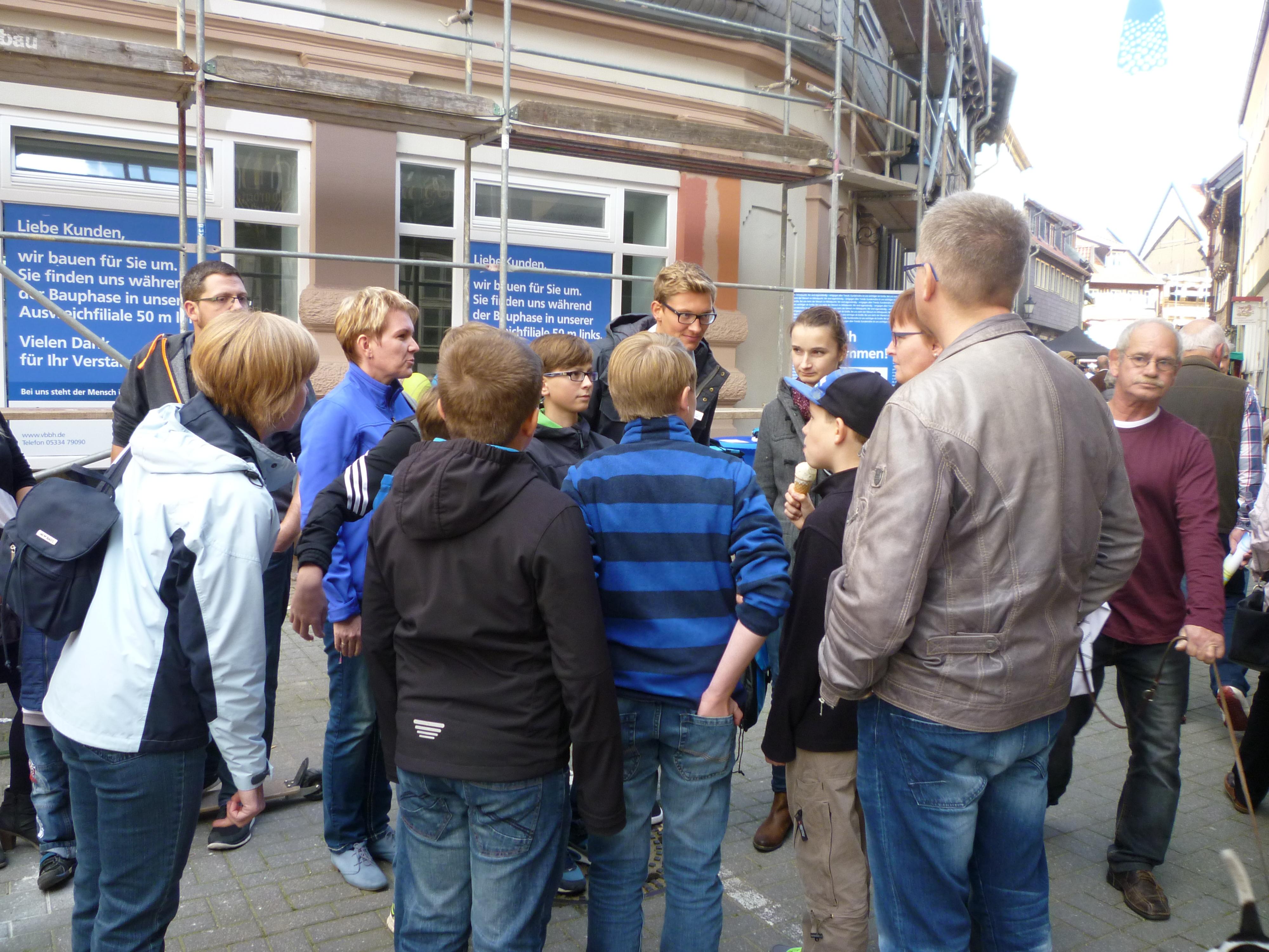 1. Geocaching-Turnier der Volksbank Börßum-Hornburg eG